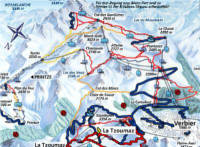 Verbier Switzerland Ski Resort Ski Map Resort Guide Columbus
