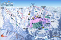 Arosa Piste Map Thumb