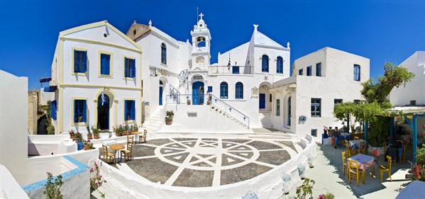 Nisyros - Village Of Nikeion