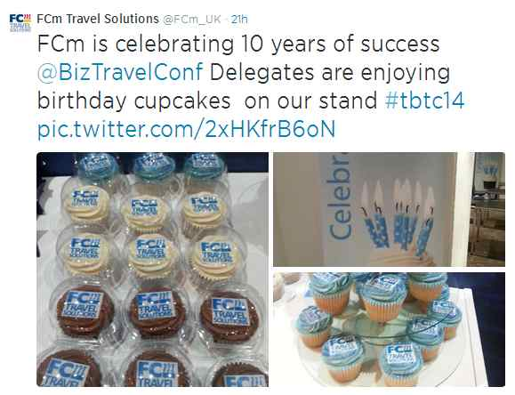 FCm Travel Solutions - Cupcakes