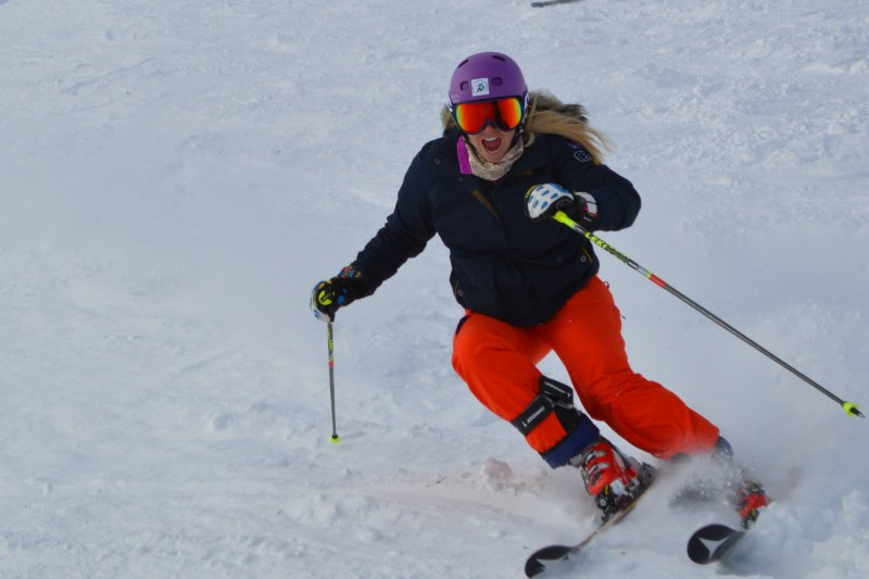 Chemmy skiing