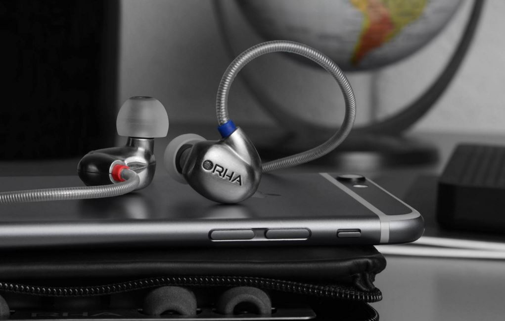 RHA earphones