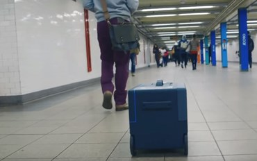 Meet the suitcase which is impossible to lose