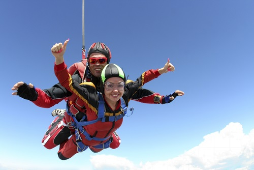 Tandem skydive insurance cover