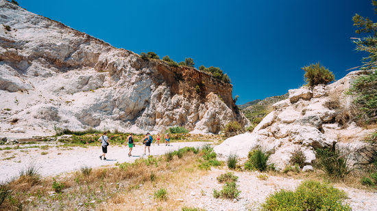 Hiking the Mountains in Nerja