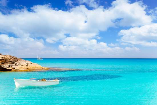 formentera best beaches crystal clear water