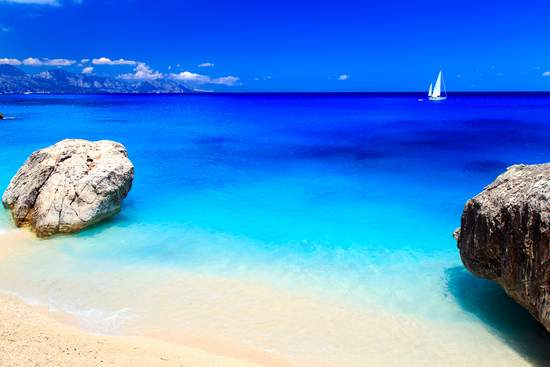 best beaches in Sardinia Italy with crystal sea water