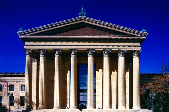 front of the art museum philadelphia usa