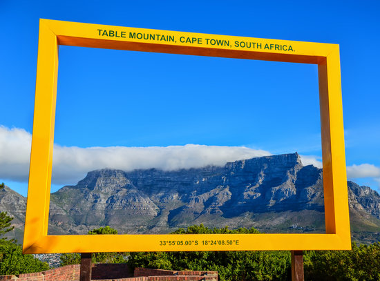 Put things in to perspective at the Table Mountain photo frame