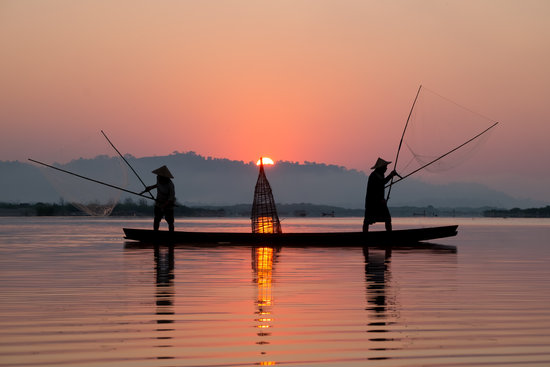 Learn how to fish with the locals in Cambodia