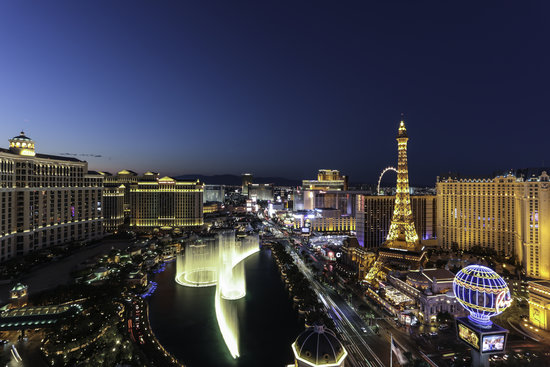See more than one city in Las Vegas