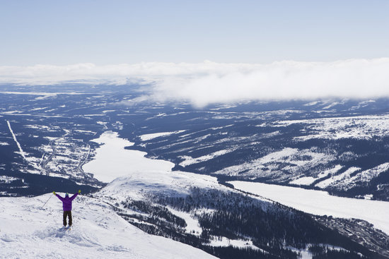 New flights from London Gatwick makes accessing Sweden's largest ski resort simple