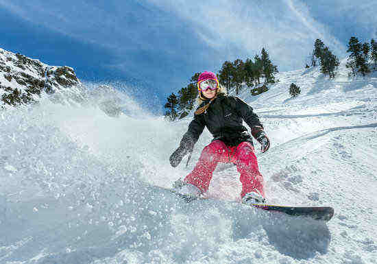 Small but just as fun, Arinsal offers skiing and other activities aplenty