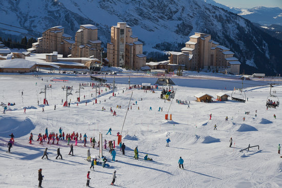 A resort so large, it crosses two countries! Avoriaz has one of the best ski schools for your children, so it's tough to ignore
