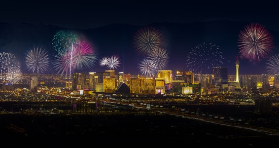 New Year in Sin City? Expect to be amazed