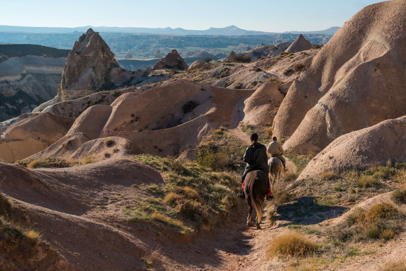 You can go horse riding in many places in Turkey, including a hack through the Cappadocia mountains