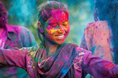 6 of the Best Places to Celebrate Holi Festival of Colours