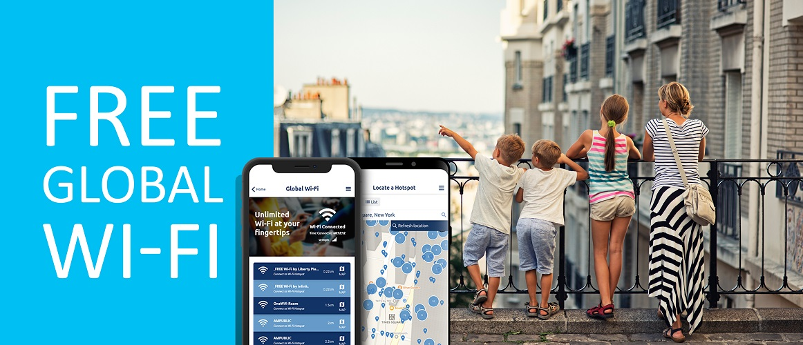 Free wifi with Columbus travel insurance