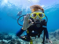 When is it safe to go scuba diving?